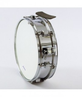 "METAL SIDE DRUM 35,5 Ø x 10 cm. (14"" Ø x 4"") chromed finish"