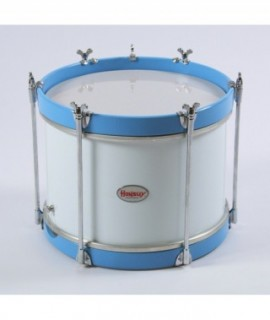 "LITTLE SIDE DRUM 30,5 Ø x 26 cm. (12"" Ø x 10"")  BLUE&WHITE"
