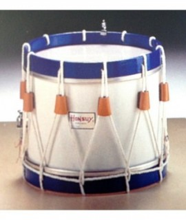 "TAMBORRADA DRUM 25 Ø x 24 cm. (10"" Ø x10"") with cords"