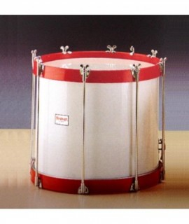 "BIG SNARE DRUM 35,5 Ø x 38 cm. (14"" Ø x 15"")."