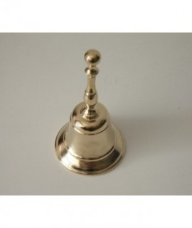 BELL W/BRASS HANDLE 6 x 12 cm.