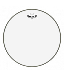 "Remo Ambassador smooth white 10"" head"