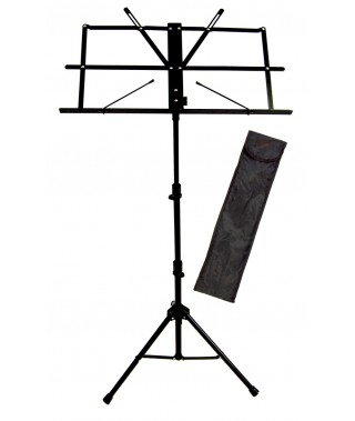 BLACK MUSIC STAND WITH BAG