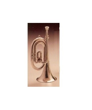 BUGLE SHORT C to Bb / silver