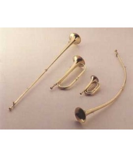 TRUMPET CURVED/silver