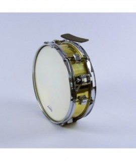 "SIDE DRUM 35,5 Ø x 8 cm. (14"" Ø x 3"")  brass finish"