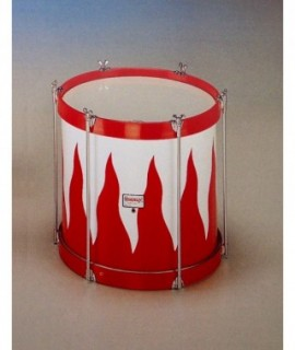 "COFRADIA TENOR DRUM 38 Ø  x 40 cm. (15"" Ø x 16"").  Llamas Finish."
