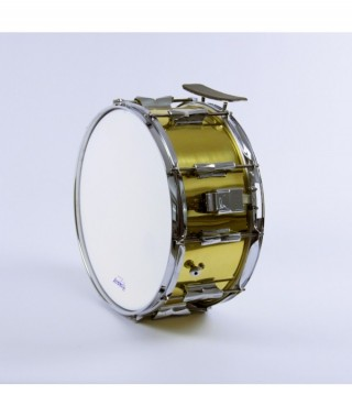 "METAL SIDE DRUM  35,5 Ø  x 16 cm. (14"" Ø x 6,3"")  Brass shell"