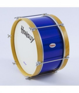 "MARCHING BASS DRUM  40,5 Ø x 25 cm. (16"" Ø x 10""). Plastic Head"