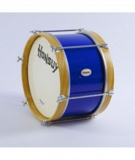 "MARCHING BASS DRUM 35,5 Ø  x 25 cm. (14"" Ø x 10"") Plastic Head"