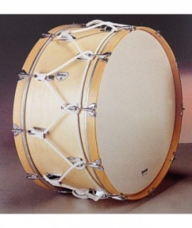 "MARCHING BASS DRUM 60 Ø x 35 cm.  (23"" Ø x 14""). Plastic Head."