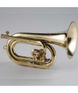 "C/Db ROTARY VALVE ""CARMEN"" BUGLE brass unfinished"