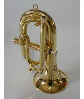 "C/Db 1 VALVE ""CARMEN"" BUGLE, brass unfinished"