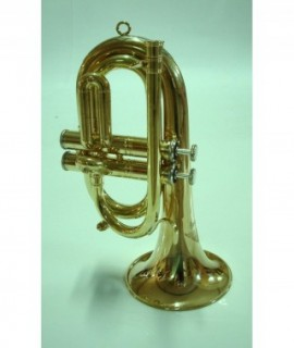 "2 VALVES ""CARMEN"" BUGLE, brass unfinished"