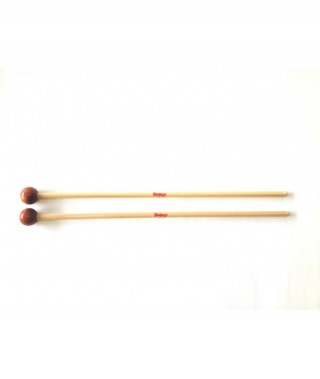 WOOD BALL MALLET, PAIR